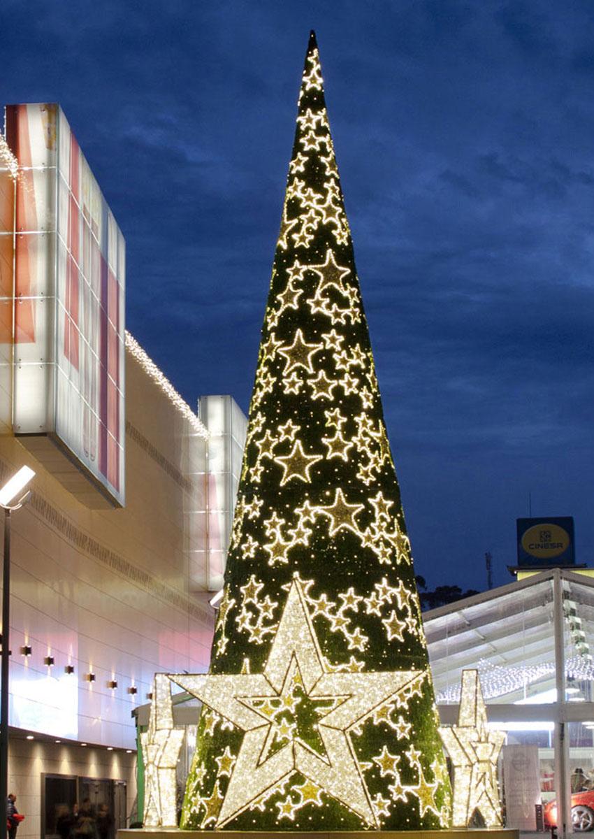 Sapin de Noël décoré en location