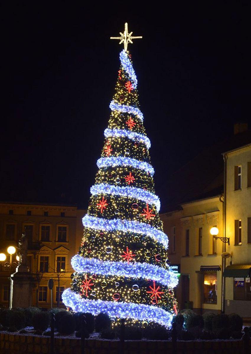 Sapin de Noël décoré à louer